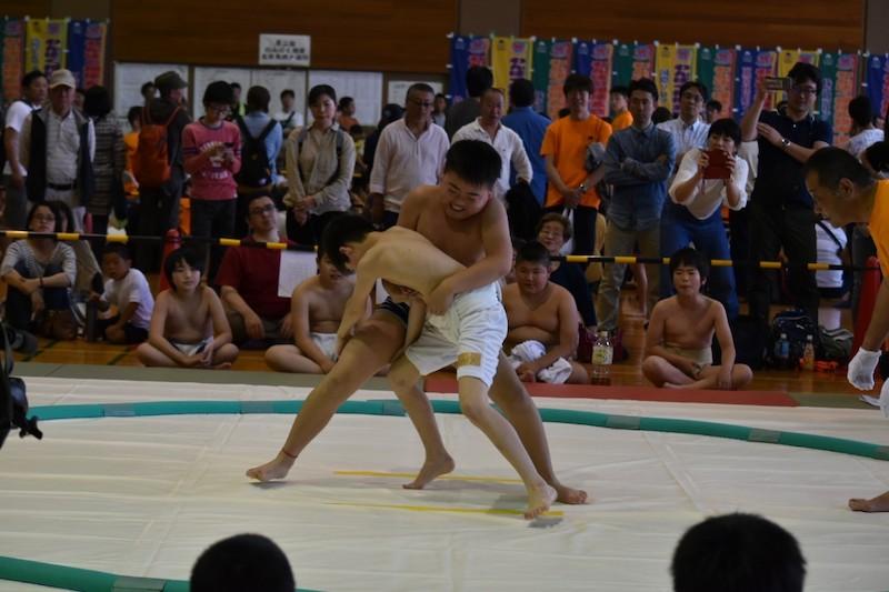 第二回わんぱく相撲五日市増戸場所