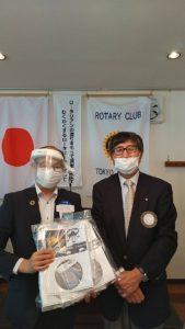 第2223回東京秋川ロータリークラブ定例会へオブザーブしてきました