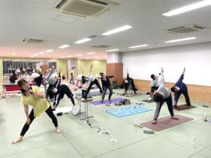 第287回例会「体の中から健康に!楽しくできるヨガ教室!!」を開催致しました